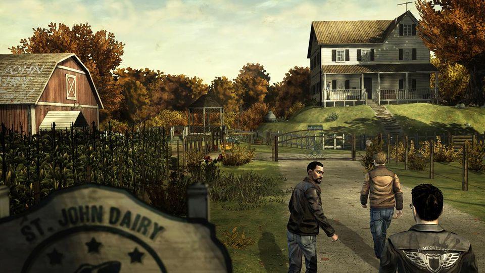 Скачать The Walking Dead: Season One на Андроид screen 1
