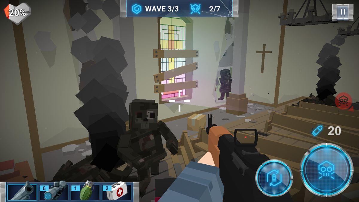 Скачать The Walking Zombie: Dead City на Андроид screen 2