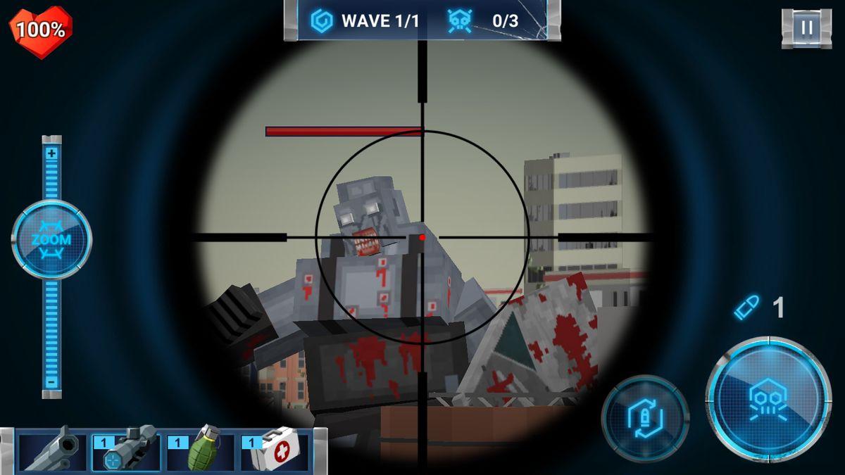 Скачать The Walking Zombie: Dead City на Андроид screen 3