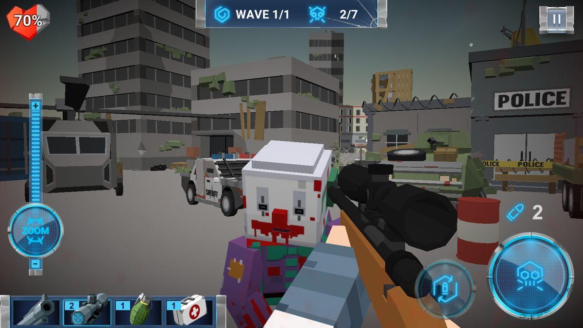 Скачать The Walking Zombie: Dead City на Андроид screen 1