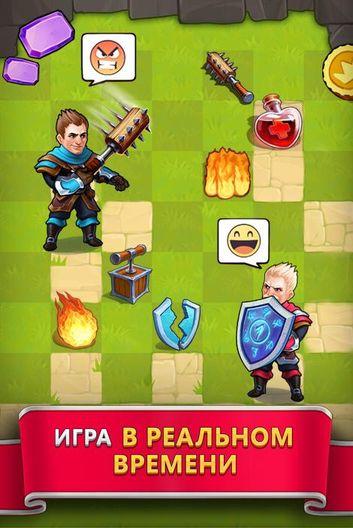 Скачать Tile Tactics: PvP Card Battle Strategy на Андроид screen 4
