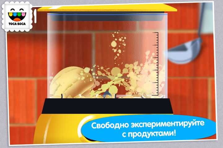 Скачать Toca Kitchen на Андроид screen 1