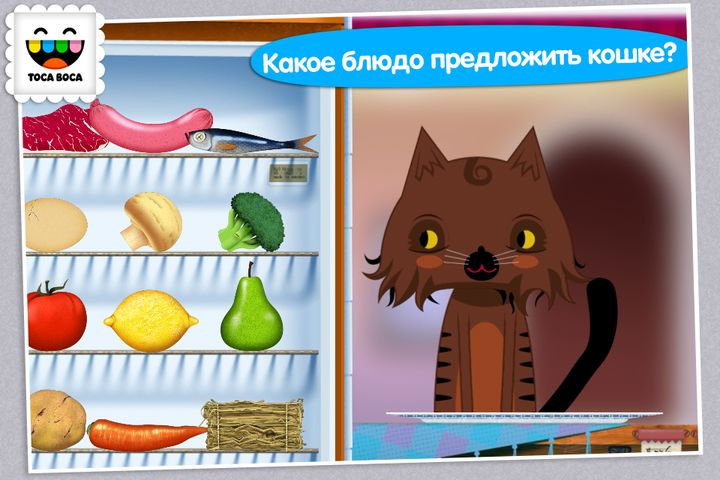 Скачать Toca Kitchen на Андроид screen 3