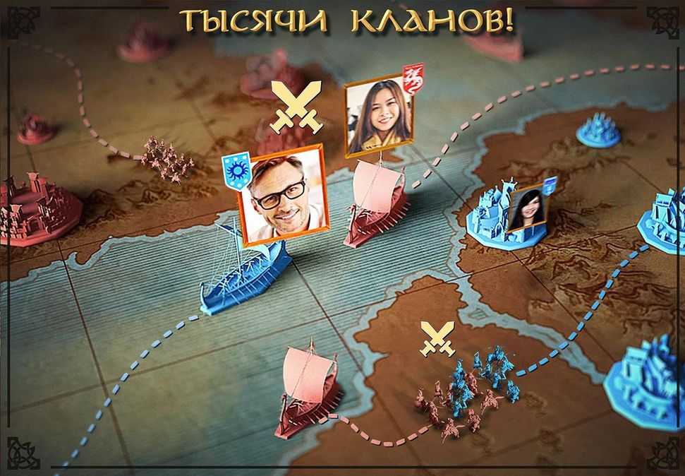 Скачать Vikings: War of Clans на Андроид screen 2