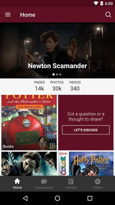 Скачать FANDOM for: Harry Potter на Андроид screen 3