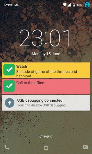 Скачать Напомни мне на Андроид screen 1