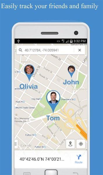 Скачать Отслеживание по номеру телефона на Андроид screen 1