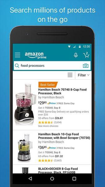 Скачать Amazon Shopping на Андроид screen 1