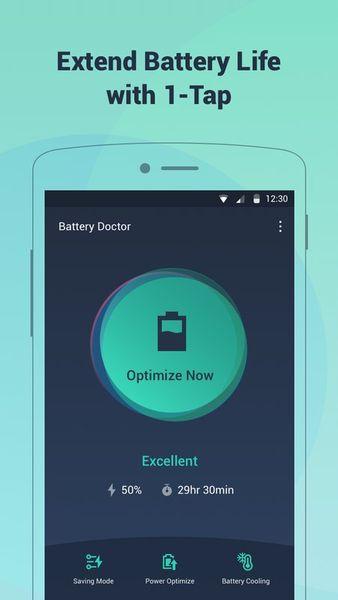 Скачать Battery Saving на Андроид screen 1