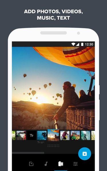 Скачать Quik: Video Editor на Андроид screen 1
