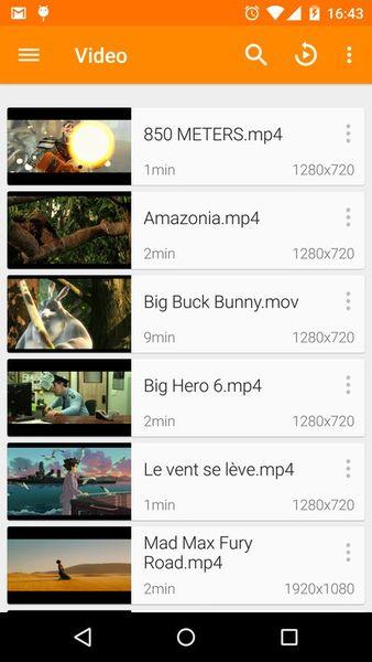 Скачать VLC for Android — Стабильная версия screen 1