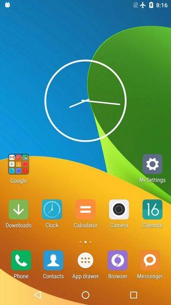 Скачать Mi: Launcher на Андроид screen 1