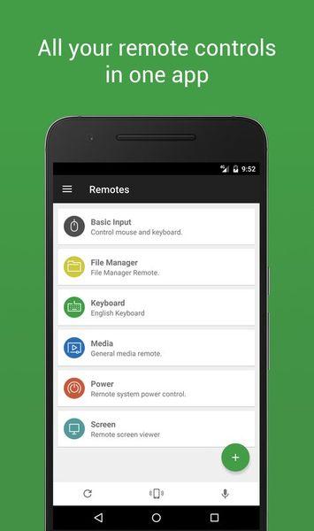 Скачать Unified Remote на Андроид — Русская версия screen 1
