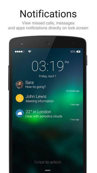 Скачать Lock Screen Iphone style на Андроид screen 1