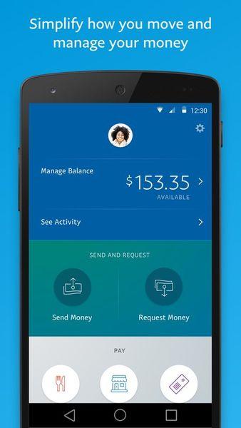 Скачать PayPal на Андроид — Оптимизированная версия screen 1