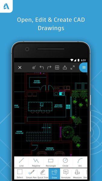 Скачать AutoCad 360 на Андроид — Оптимизированная версия screen 1