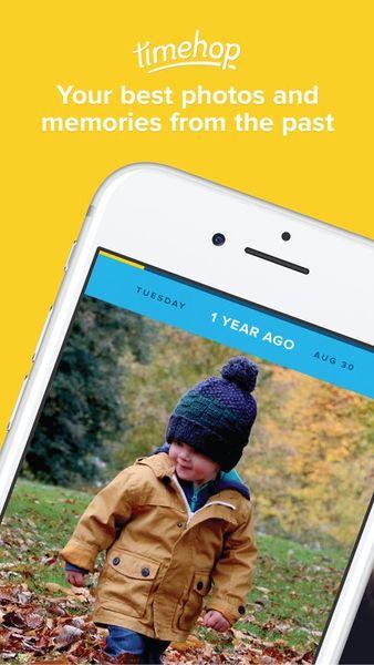 Скачать Timehop на Андроид — Новая версия screen 1