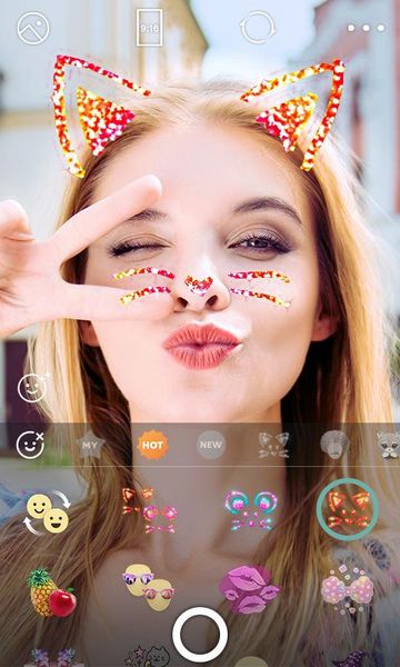 Скачать B612: Selfie from the heart на Андроид screen 1