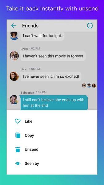 Скачать Yahoo! Messenger на Андроид — Полная версия screen 1