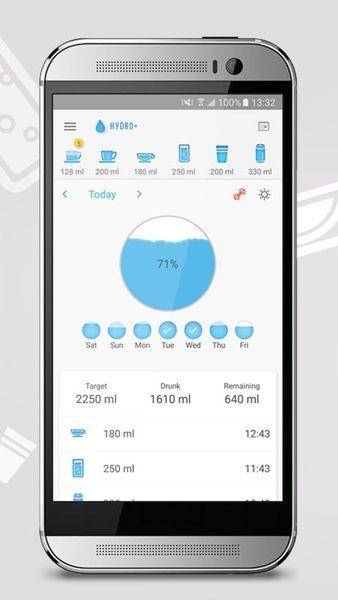 Скачать Hydro drink water на Андроид screen 1