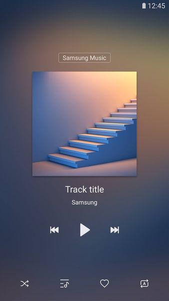 Скачать Samsung Music на Андроид screen 1