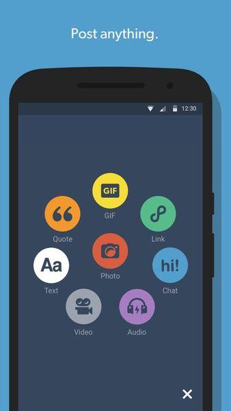 Скачать Tumblr на Андроид — Оптимизированная версия screen 2
