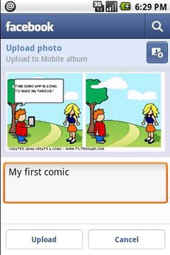 Скачать Comic & Meme на Андроид screen 3