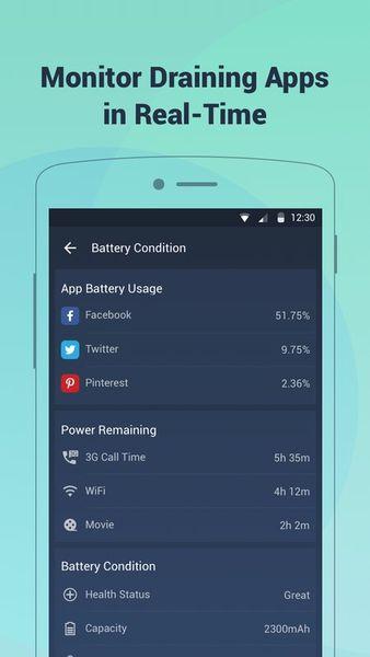 Скачать Battery Saving на Андроид screen 2