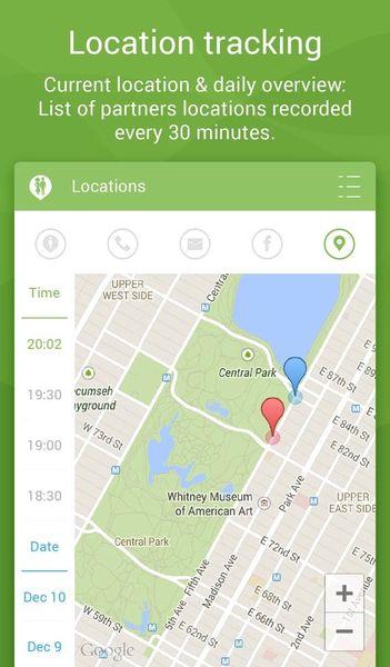 Скачать Couple Tracker: Phone Monitor на Андроид screen 2