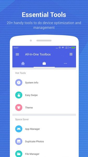 Скачать Toolbox: All In One на Андроид screen 2
