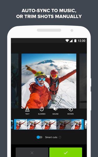 Скачать Quik: Video Editor на Андроид screen 2