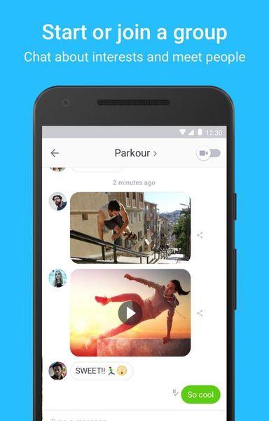 Скачать Kik на Андроид screen 2