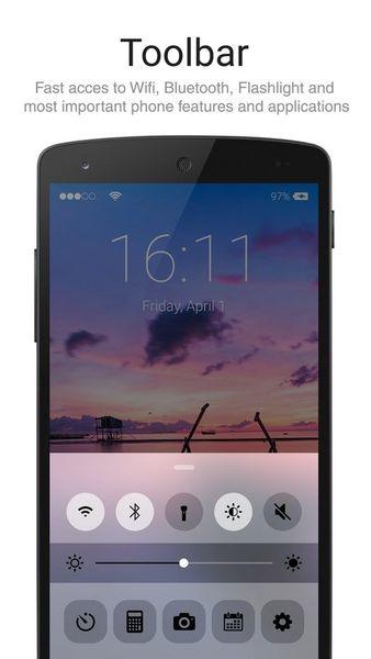 Скачать Lock Screen Iphone style на Андроид screen 2