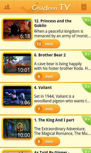 Скачать Children TV на Андроид screen 2