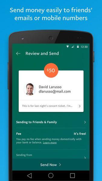 Скачать PayPal на Андроид — Оптимизированная версия screen 2
