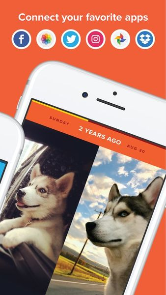 Скачать Timehop на Андроид — Новая версия screen 2