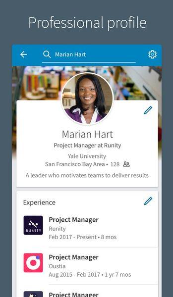 Скачать LinkedIn на Андроид screen 2