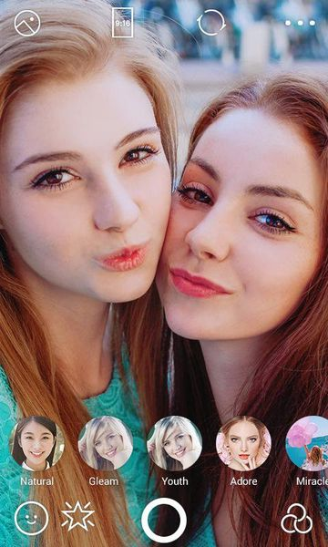 Скачать B612: Selfie from the heart на Андроид screen 2