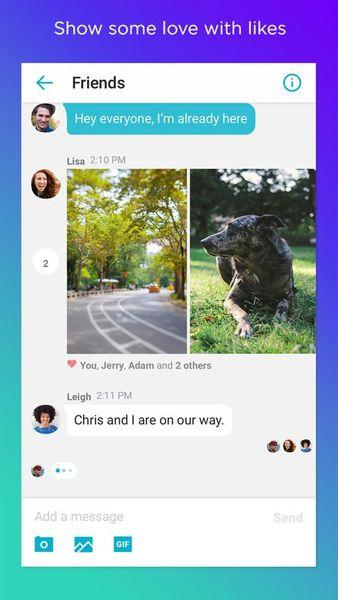 Скачать Yahoo! Messenger на Андроид — Полная версия screen 2