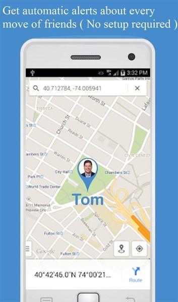 Скачать Отслеживание по номеру телефона на Андроид screen 3