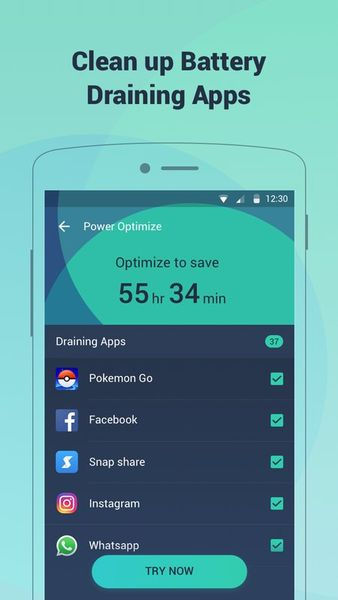 Скачать Battery Saving на Андроид screen 3