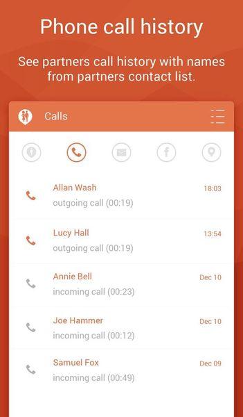 Скачать Couple Tracker: Phone Monitor на Андроид screen 3