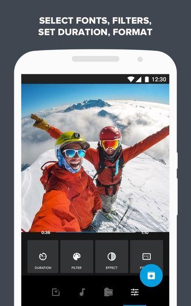 Скачать Quik: Video Editor на Андроид screen 3