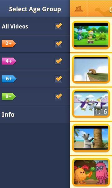 Скачать Children TV на Андроид screen 3
