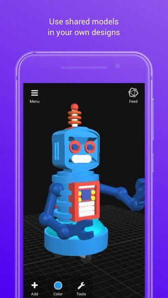 Скачать 3D Creationist на Андроид — Русская версия screen 3