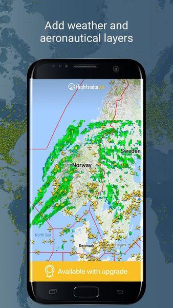 Скачать Flightradar 24 на Андроид screen 3