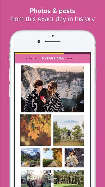 Скачать Timehop на Андроид — Новая версия screen 3