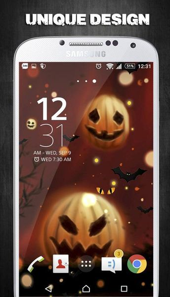 Скачать Halloween Live Wallpaper на Андроид screen 3