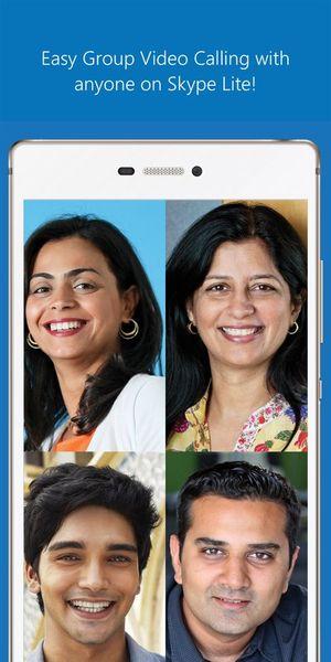 Скачать Skype Lite на Андроид screen 3