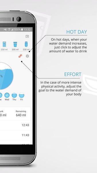 Скачать Hydro drink water на Андроид screen 3